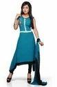 Designer Party Wear Pakistani Style Long Kurti With Dupatta