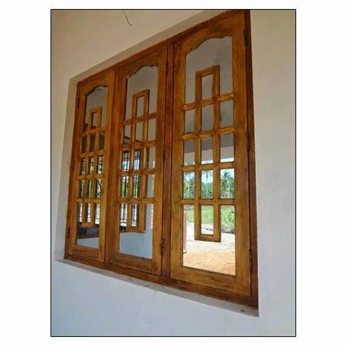 Wooden Craft Window