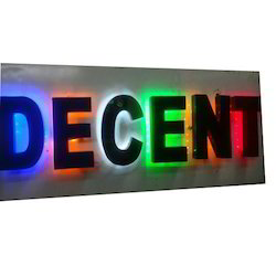 LED Backlit Signs
