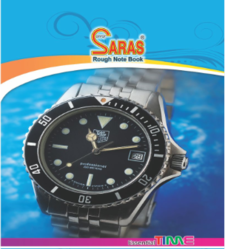 Saras Rough Note Book, Paper Size: Various