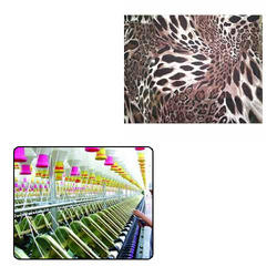 Animal Printed Chiffon Fabric For Textile Industry
