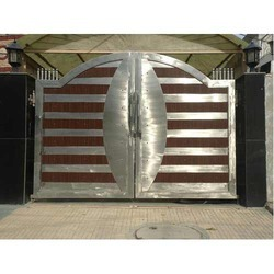 Stainless Steel Main Gates Stainless Steel Gate