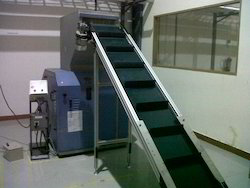 Industrial Cleated Belt Conveyor