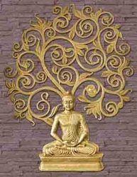 Buddha Murals, दीवार का म्यूरल, वॉल
