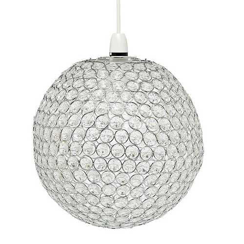 Beaded Ball Pendant Light