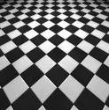 Checkered Floor Tiles