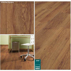 Oak Highland Laminated Wooden Flooring