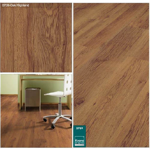 Oak Highland Laminated Wooden Flooring At Rs 75 Square Feet Wood