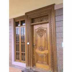 Carved Wood Doors Suppliers Manufacturers Dealers In