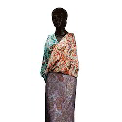 8445e49fada Natural Sethsons India Floral Designer Shawls