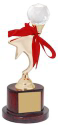KN-1151 Brass Star Trophy
