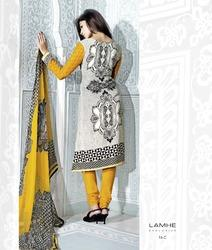 Elegantly Coloured New Churidar Suit