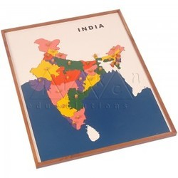 India map puzzle at rs 2150 piece paheli wale khel india map puzzle gumiabroncs Images