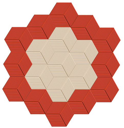 Paved Tiles - 3d Hexagon-Paved Tile Manufacturer from Kottayam
