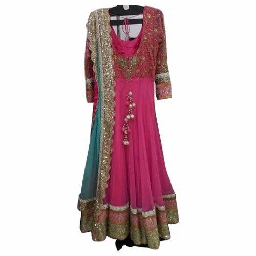 4e9ae7d40c5 Designer Ladies Suits - Designer Anarkali Bridal Suit Manufacturer ...