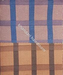 Polyester Cotton Check Cotrize Bag Fabric, 280-300