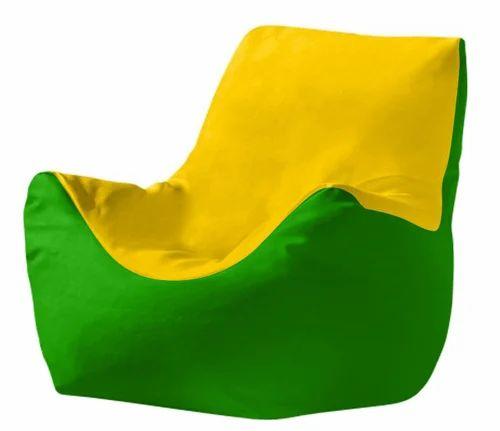 Fantastic Fab Homez Arm Chair Yellow And Light Green Xxxl Machost Co Dining Chair Design Ideas Machostcouk
