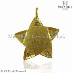 Star Shape Gemstone Pendant