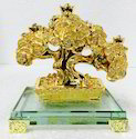 Golden Money Tree Plant With Coins Fengshui Positive Energy