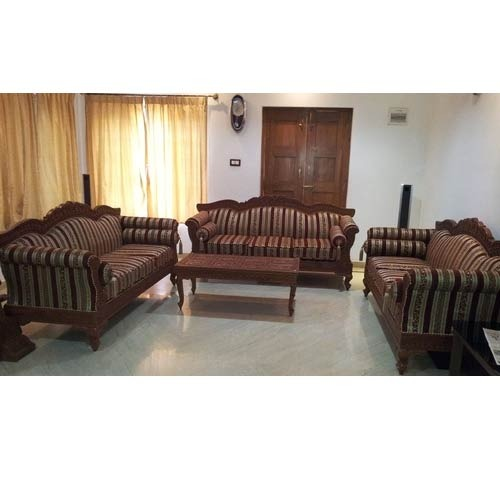 Antique Wooden Carved Sofa Set