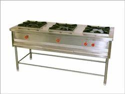 Three Burnar Cooking Rang