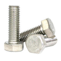 Full Thread Stainless Steel Hex Bolt, Material Grade: Ss 304, Size: 24 Mm