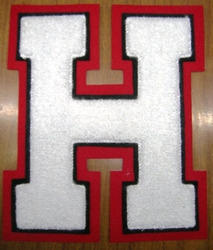 H Letter Patch