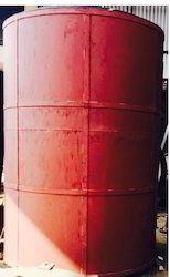 Cylindrical Cooling Storage Tank