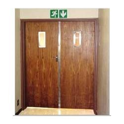 Wooden Fire Door, Fire Doors | Mumbai | NNC Automated Doors ...