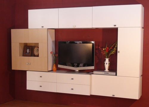 Wall Design Tv Cabinet Television Cabinet टव कबनट