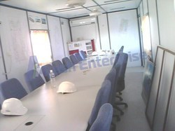 Portable Meeting Room Cabin, Size: 20ft And 40ft, Seating Capacity: 20 Members