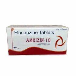 Amrizin-10 Tablet  (Flunarizine )