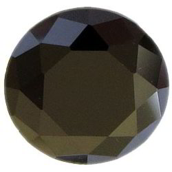 Cubic Zirconia Black Gemstone