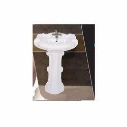 Pedestal Wash Basin Sterling Set