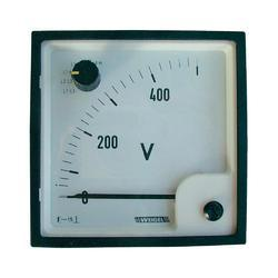 AC Moving Coil Rectifier DIN  Panel Ammeters & Volt Meter