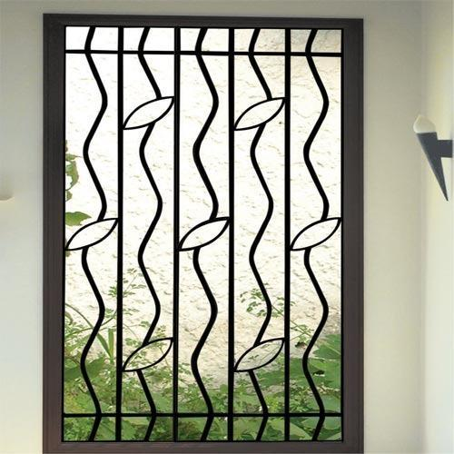 Fixed Window Black Window Grill Metal Craft Id 8562499230