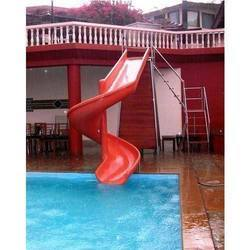 Spiral Pool Slide