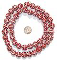 Soni Handicraft Round Terracotta Red Bead