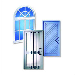 Residential Aluminium Doors Fitting Services