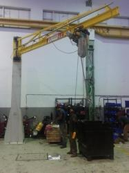 Jib Cranes for Steel Plants