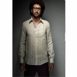 White Linen Shirt