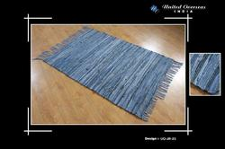 Recycled Denim Flat Weave Rugs