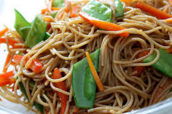 Schezwan Chicken Soft Noodles