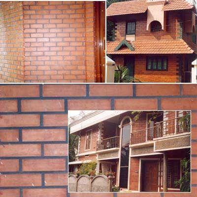 Terracotta Abhishek Arts House Exterior Wall Tile Thickness 20 25