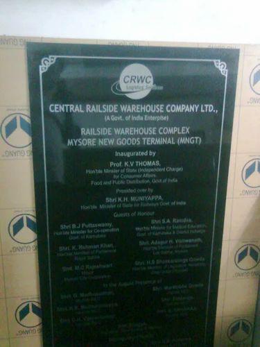 Inauguration Name Plates Name Board Devraj Mohalla