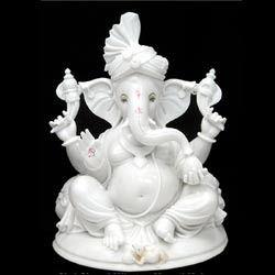 Classic Ganesha Statue of Marble