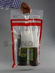 白色印刷免税袋,容量:500克,包装尺寸(袋/包):10