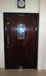 Wooden Fire Rated Single Leaf Door with Vision Panel