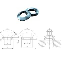Strap Clamp Spherical Washer with Conical Seat