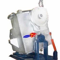 Hydraulic Tilting Aluminum Melting Furnace